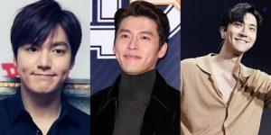 9 Aktor Tampan Korea Selatan yang Memiliki Lesung Pipi